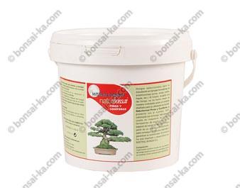 Naturbonsai engrais stimulant avec mycorhizes spécial pins et conifères 800 ml