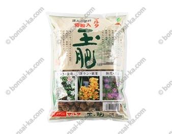 Engrais organique solide japonais Joy Tamahi boulettes Ø 15 mm sachet de 500 g