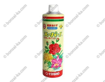 Engrais organique liquide concentré Tosho Super NPK 4,5-4,5-3 flacon 560 ml
