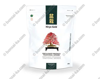Hiryo Gold Entretien engrais organique solide microgranules NPK 6-4-4+Fe sachet de 350g