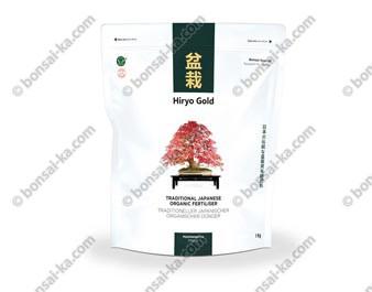 Hiryo Gold Entretien engrais organique solide microgranules NPK 6-4-4+Fe  sac de 1 kg
