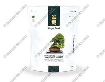 Hiryo Gold Conifères engrais organique solide microgranules NPK 6-3-4+Mg sac de 1 kg