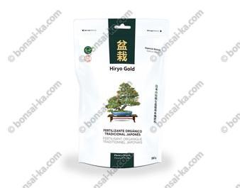 Hiryo Gold fleurs et fruits engrais organique solide microgranules NPK 4-6-8 sachet de 350g