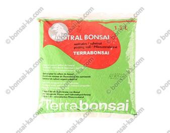 Terrabonsaï substrat de rempotage universel pour bonsaï sac de 1,5 litres