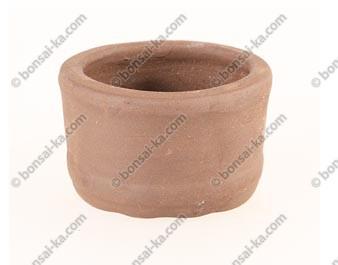Poterie ronde en grès de Yixing 65x45mm