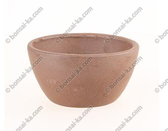 Poterie ronde en grès de Yixing 75x40mm
