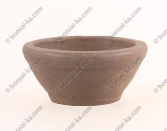 Poterie ronde en grès de Yixing 65x30mm