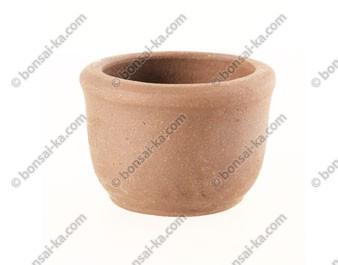 Poterie ronde en grès de Yixing 60x45mm