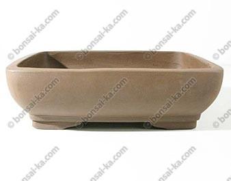 Pot rectangulaire en gres de Yixing 290x220x100mm