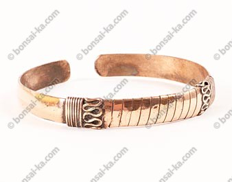 Bracelet Tibétain Boa en cuivre