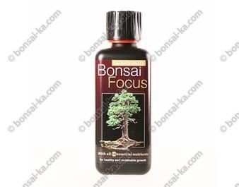 Bonsai Focus engrais minéral avec nutriments et extraits d'algues flacon 300 ml