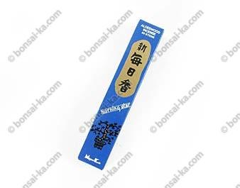Encens japonais au bois d'aloès Morning Star 50 bâtons