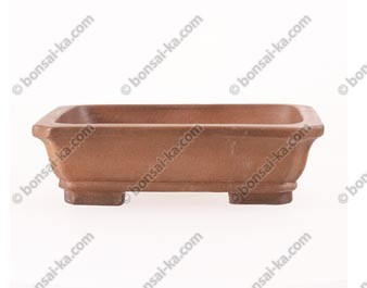 Poterie rectangulaire en grès de Yixing 200x155x55mm
