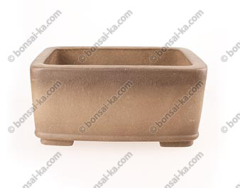 Poterie rectangulaire en grès de Yixing 230x175x110mm