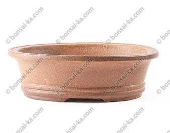 Poterie ovale en grès de Yixing 195x150x60mm