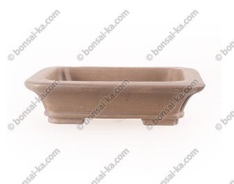 Poterie rectangulaire en grès de Yixing 210x180x50mm