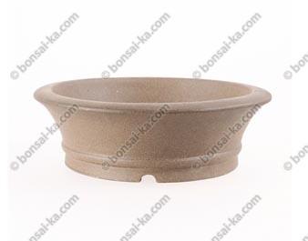 Poterie ronde en grès de Yixing 180x60mm