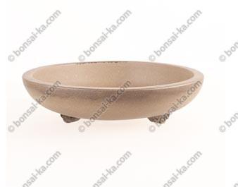 Poterie ronde en grès de Yixing 185x45mm