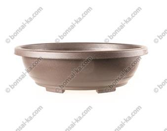 Pot de culture ovale en plastique injecté brun 535x410x170mm