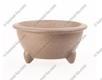 Poterie ronde en grès de Yixing 105x55mm