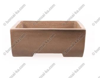 Poterie carrée en grès de Yixing 255x255x95mm