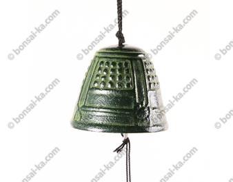 Mini carillon éolien en fonte verte Iwachu