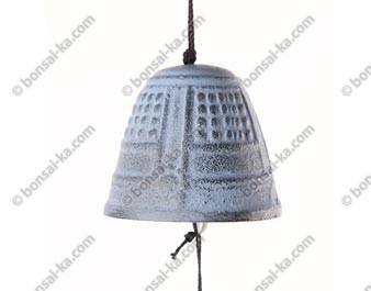 Mini carillon éolien en fonte bleu-clair Iwachu