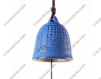 Carillon éolien Japonais Temple en fonte bleue