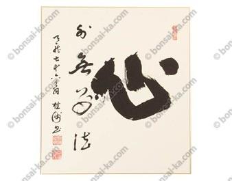 Shikishi Shin par Keiju Dorin 27x24cm