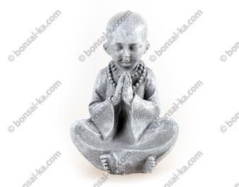 Bonze statuette résine grise 11 cm