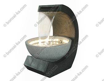 Fontaine Dintérieur Rideau Deau XL Cm Bonsaika - Fontaine a eau d interieur