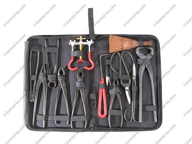 Outils pour bonsa complet image10 pi ces outils de - Outil de jardinage professionnel ...