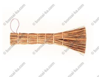 Brosse japonaise plate en fibres végetales modèle pro 16 cm