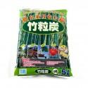 Charbon de bambou granulométrie 2-5 mm sac de 5 L