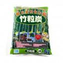 Charbon de bambou granulométrie 4-12 mm sac de 5 L
