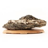 suiseki roche paysage 29 cm sur daï suds110
